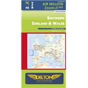 Carte VFR AIRMILLION ZOOM Southern England & Wales 2020